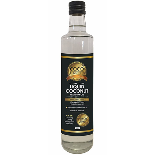 Liquid Coconut Premium Oil 500ml