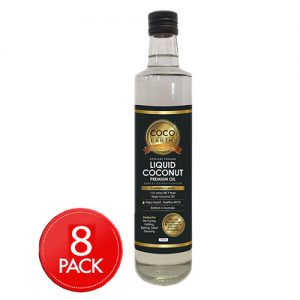 Liquid Coconut Premium Oil (250ml x 8 Pack)